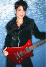 female guitarist