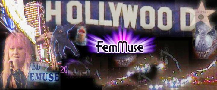 FemMuse A Female Musicians Network Logo