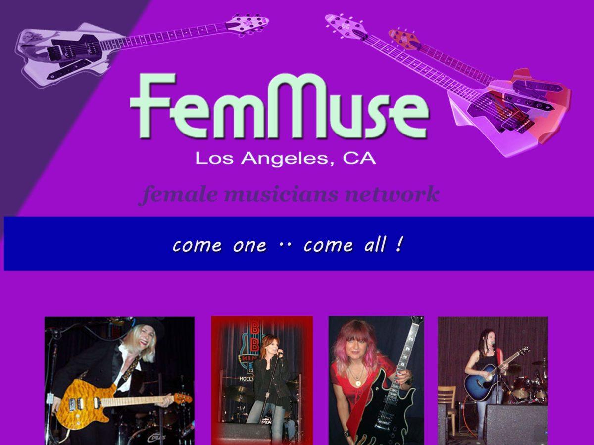 Female Musicians Network FemMuse.com Los Angeles