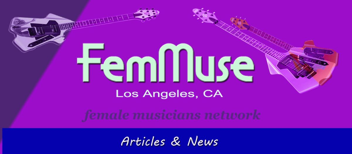 Published Articles and News about Female Musicians